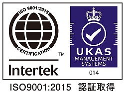 ISO9001 is acquired.